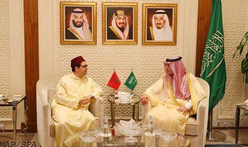 بوريطة يبحث بالرياض مع نظيره السعودي العلاقات الثنائية والمستجدات الإقليمية والدولية