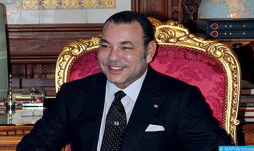 الملك يهنئجورج ويا بمناسبة انتخابه رئيسا لليبيريا
