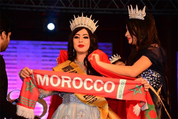 تتويج المغربية شيرين حسني بلقب ملكة جمال العرب 2018