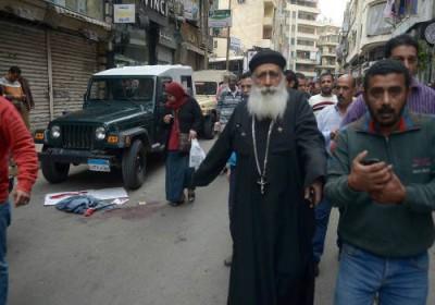 قتلى وجرحى في هجوم على كنيسة بحلوان جنوب القاهرة