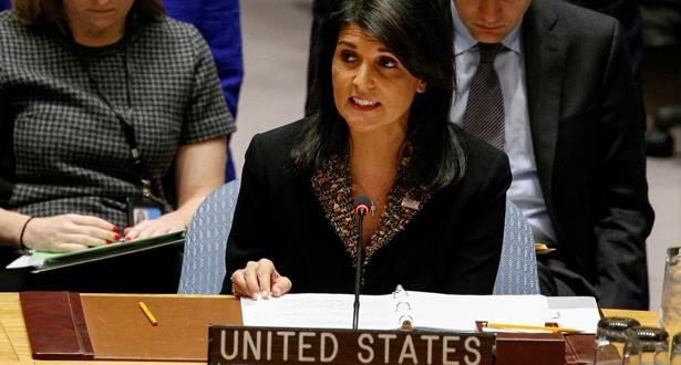 """واشنطن تستخدم حق """"الفيتو"""" ضد قرار بمجلس الأمن يرفض قرار ترامب حول القدس"""