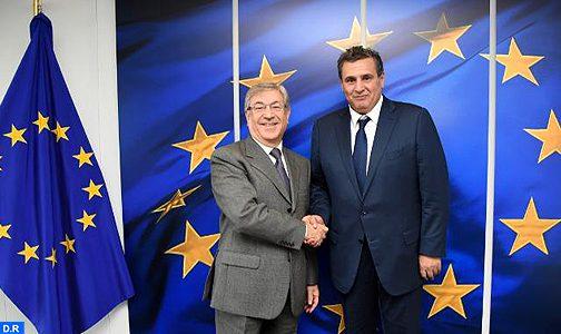 أخنوش ببروكسل لبحث التعاون بين المغرب والاتحاد الأوروبي