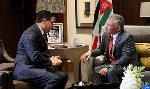 رسالة شفوية من الملك محمد السادس إلى العاهل الأردني