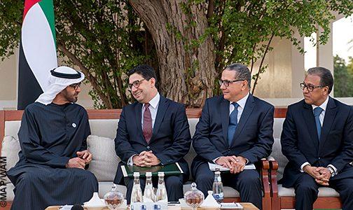 رسالة خطية من الملك إلى الشيخ محمد بن زايد ال نهيان