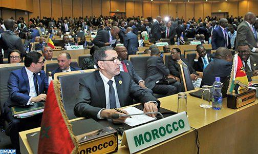 أديس أبابا .. افتتاح أشغال الدورة الثلاثين لقمة الاتحاد الإفريقي بمشاركة المغرب