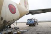 """تنفيذا للتعليمات الملكية السامية، إرسال مساعدات إنسانية إلى مدغشقر التي ضربها إعصار """"إيفا"""""""