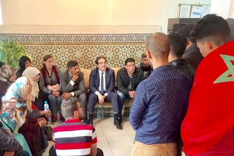 وزارة بنعتيق تكشف آخر المعطيات المتعلقة بإعادة المغاربة العالقين بليبيا إلى أرض الوطن