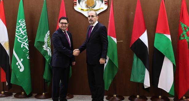 المغرب يجدد التأكيد على تضامنه القوي والثابت مع الشعب الفلسطيني