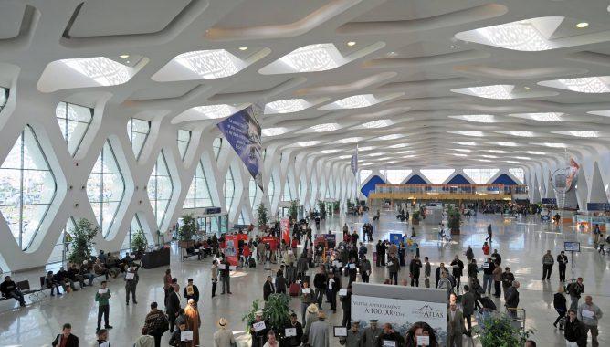 ارتفاع حركة النقل الجوي بمطار مراكش المنارة بأزيد من 26%