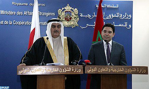 """مملكة البحرين تجدد دعمها """"الثابت"""" لقضية الوحدة الترابية للمغرب"""