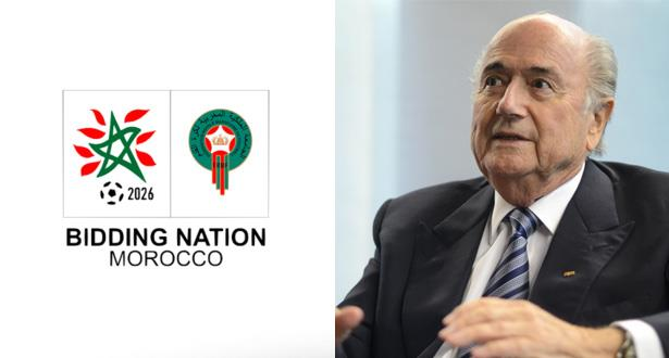 بلاتر يعبر عن موقف قوي وصريح حول أحقية المغرب بالمونديال
