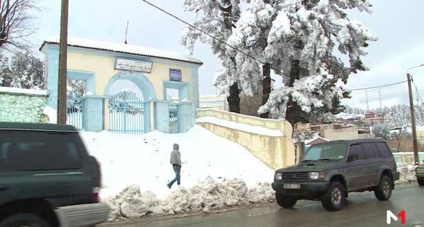 استئناف الدراسة بعدد من المؤسسات التعليمية بعد موجة الثلج