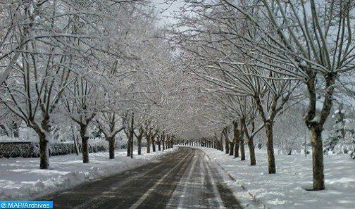 تساقطات مطرية وثلجية مع انخفاض مهم في درجات الحرارة ابتداء من الأحد وحتى نهاية الأسبوع المقبل