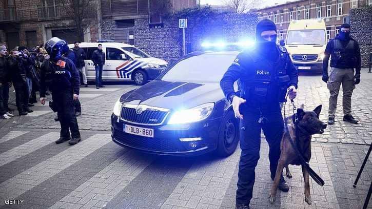 """اعتقال 8 أشخاص بشبهة """"الإرهاب"""" في بروكسل"""