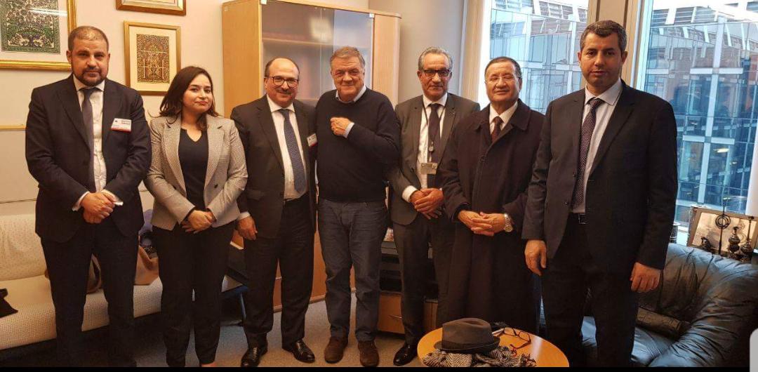 عثمون يعقد سلسلة من اللقاءات بمقر البرلمان الأوروبي ببروكسيل