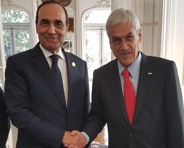 الرئيس الشيلي يؤكد أن الوحدة الترابية للمغرب مبدأ ثابت في بلاده