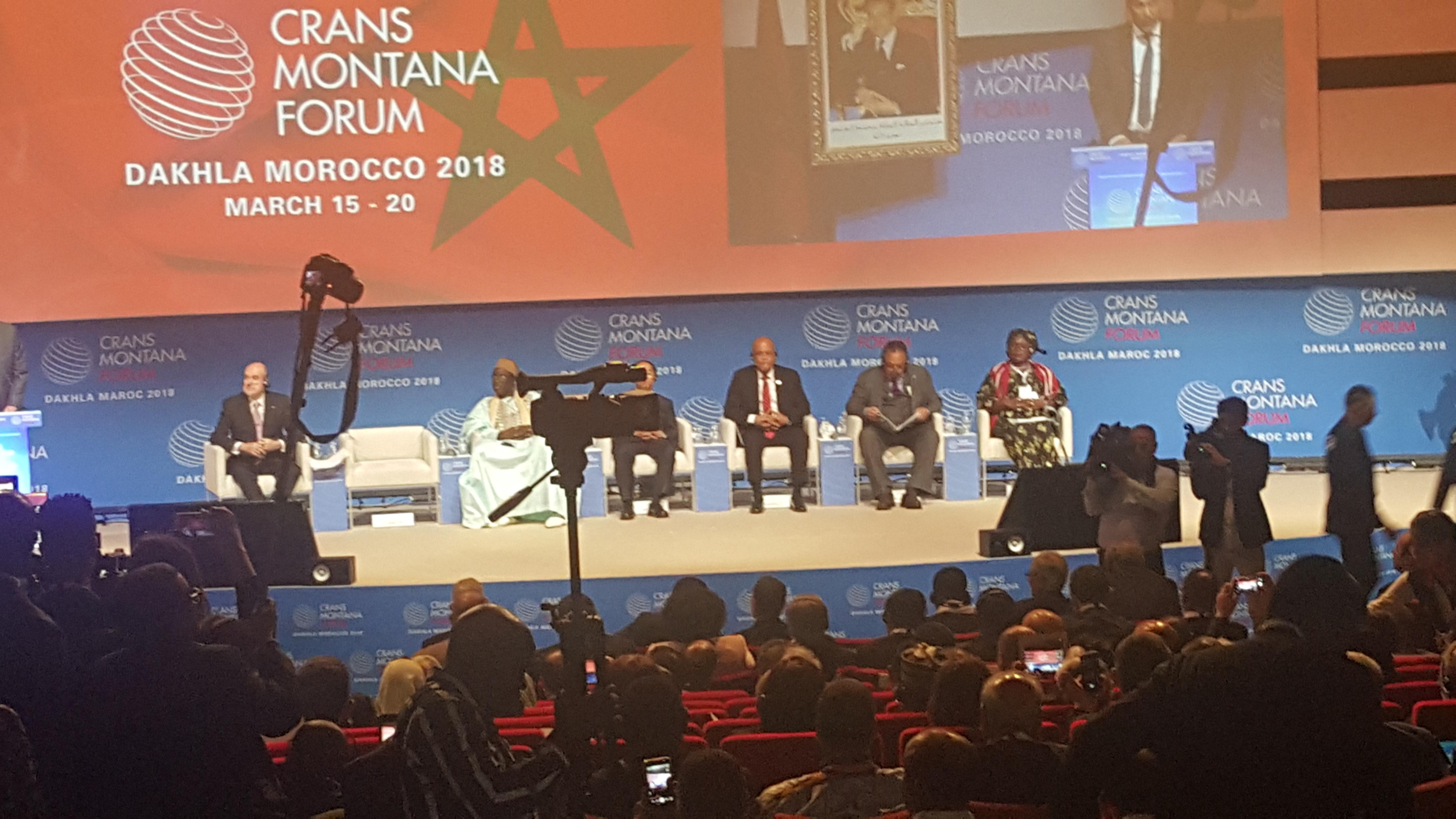 كرانس مونتانا… إشادة دولية كبيرة بالتزام المغرب لفائدة التنمية المستدامة بإفريقيا
