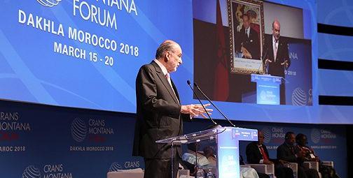 كارترون: البلدان المشاركة في منتدى كرانس مونتانا أتت لدعم ما يقوم به المغرب في إفريقيا