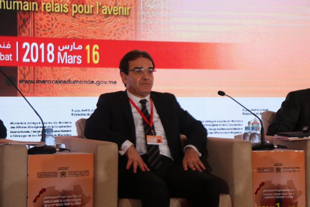 بنعتيق يكشف دور مغاربة العالم في خدمة النموذج التنموي المغربي