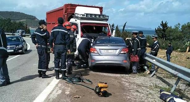 مصرع 4 أشخاص في حادثة سير ضواحي تطوان