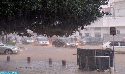 أمطار وزخات رعدية محليا قوية مرتقبة اليوم السبت وغدا الأحد بالعديد من مناطق المملكة