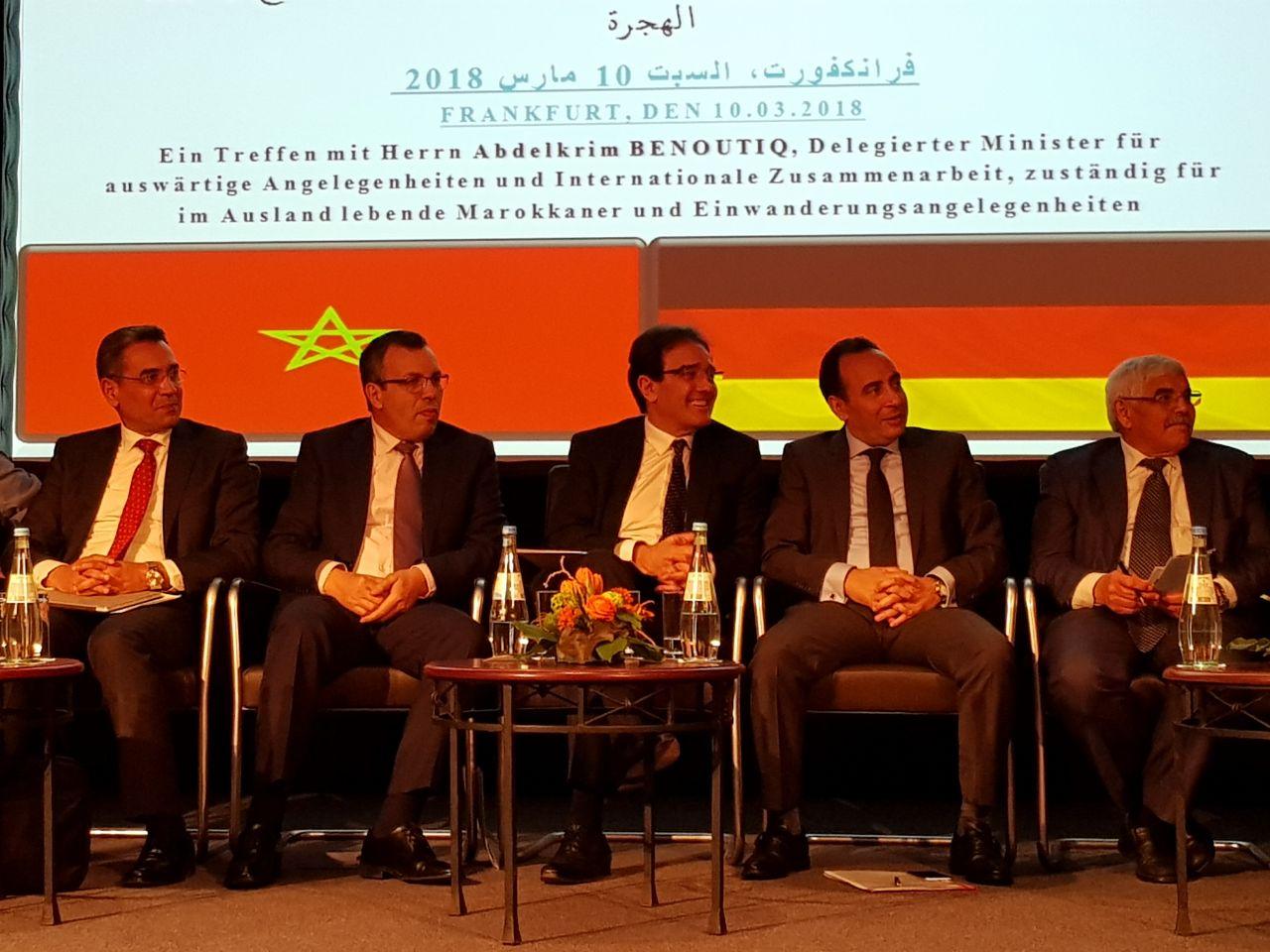 الوزير بنعتيق بفرانكفورت للتواصل مع مغاربة ألمانيا