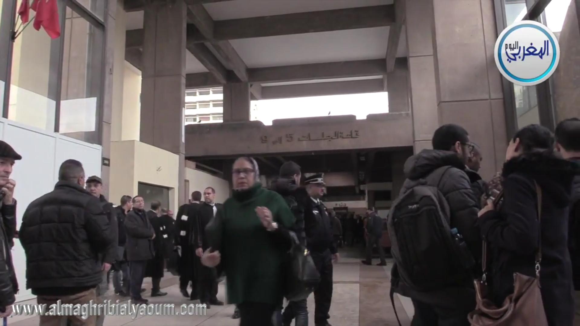بالفيديو… تعرف على الأجواء داخل المحكمة قبل انطلاق محاكمة توفيق بوعشرين