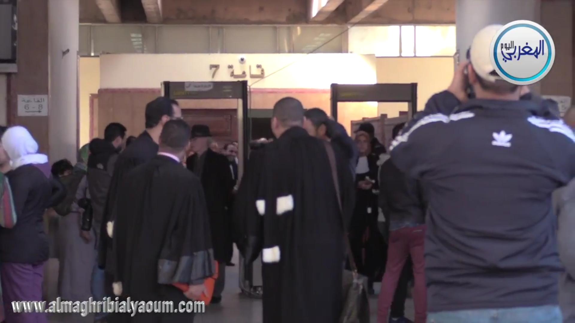 """بالفيديو… """"المغربي اليوم"""" ينقل لكم أجواء محاكمة توفيق بوعشرين"""