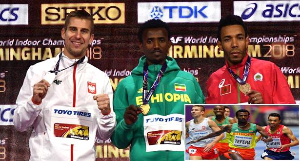 عبد العاطي إيكيدير يحرز برونزية 1500 متر لبطولة العالم