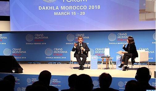 """ساركوزي: """"المغرب يعتبر قوة إفريقية وعودته إلى أسرته الإفريقية مهم جدا"""""""