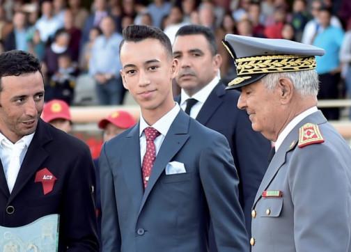 ولي العهد الأمير مولاي الحسن يحقق حلمه ويتخصص بالطيران