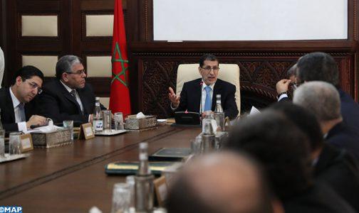 بوريطة يقدم إفادة بمجلس الحكومة حول التطورات شرق الجدار الأمني الدفاعي للصحراء المغربية
