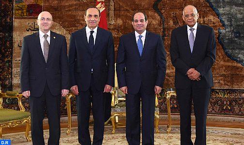 الرئيس المصري يشيد بتميز وقوة علاقات بلاده مع المغرب