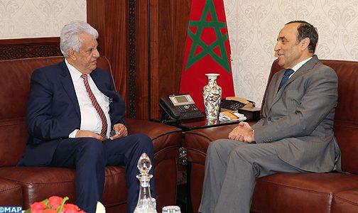 سفير فلسطين بالرباط يشيد بموقف الملك في الدفاع عن القدس