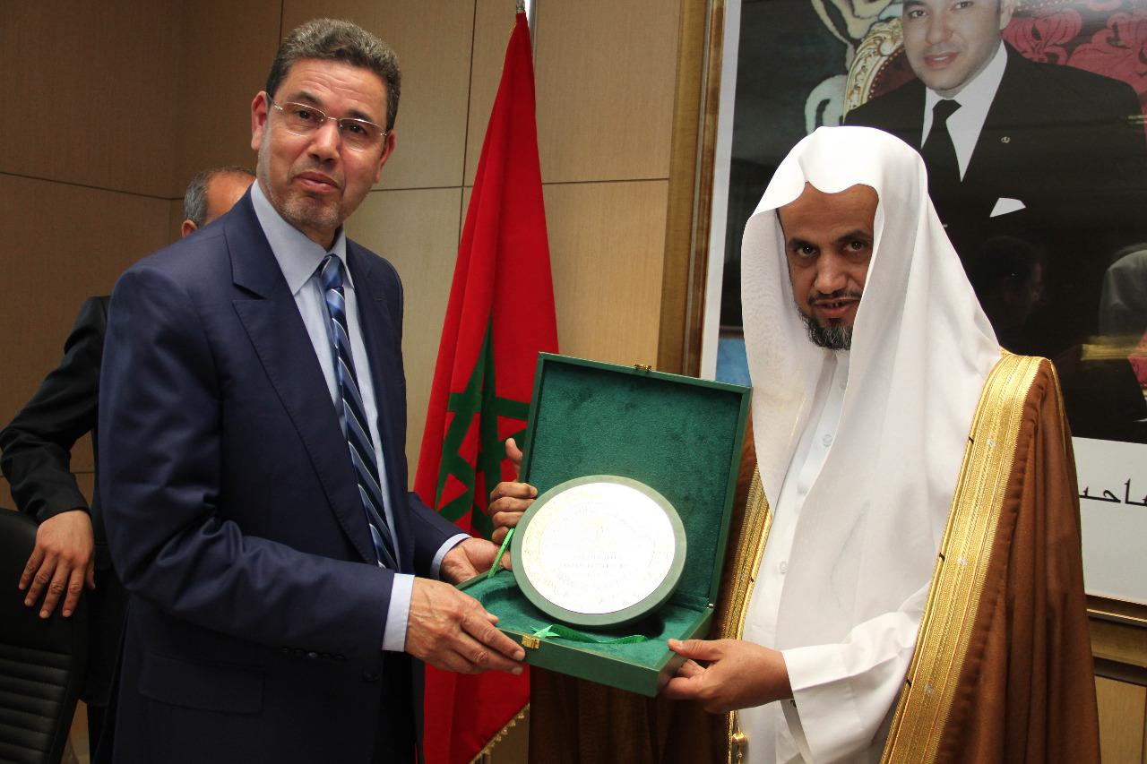 رئيس النيابة العامة يجري مباحثات مع النائب العام بالمملكة العربية السعودية