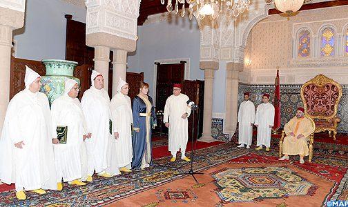 الملك يعين عددا من السفراء الجدد