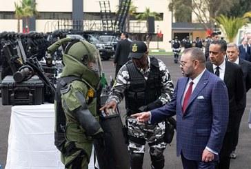 الملك يزور المديرية العامة لمراقبة التراب الوطني ويدشن بها معهدا للتكوين التخصصي