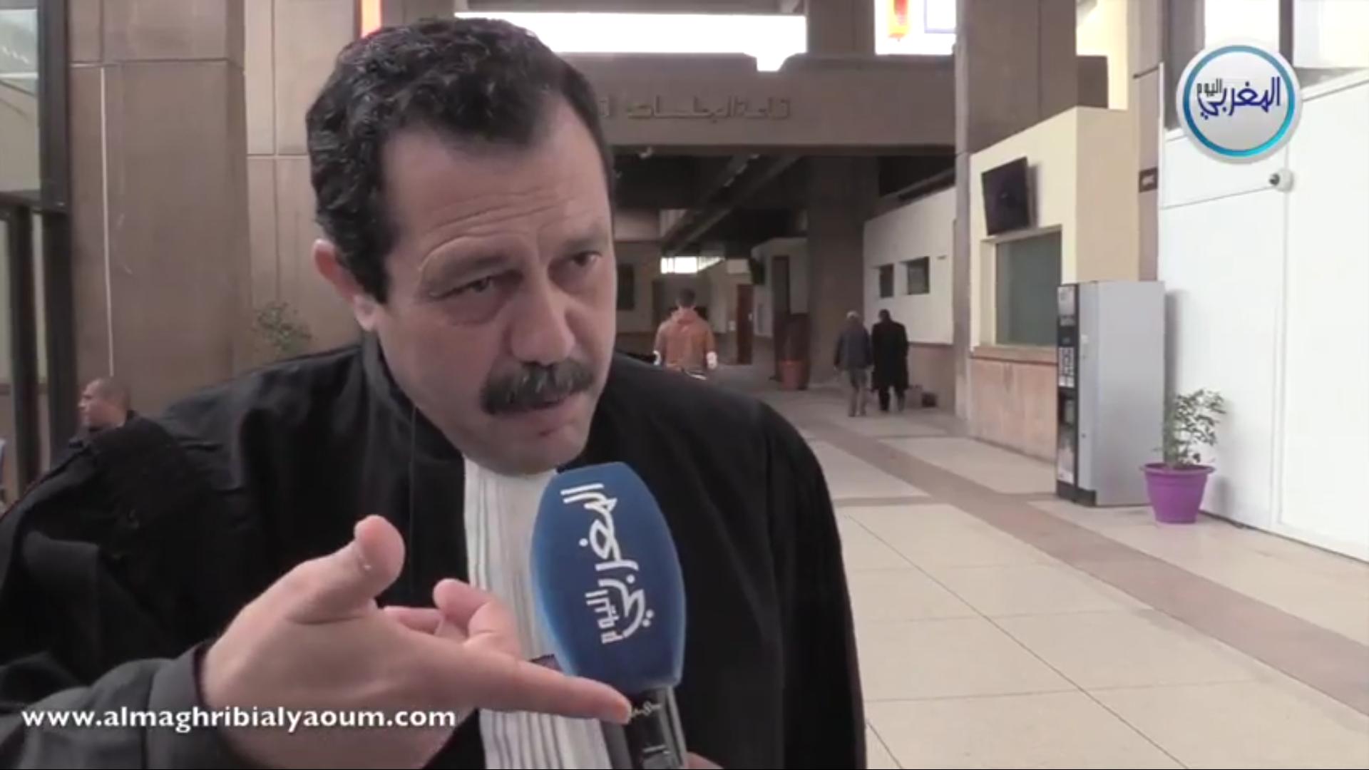 """المحامي حاجي: """"التهديد بعدم حضور أمل الهواري خرق للقانون وتحدي للمحكمة"""""""