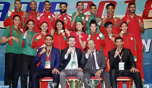 المغرب بطلا للقارة في رياضة التايكوندو برصيد 16 ميدالية