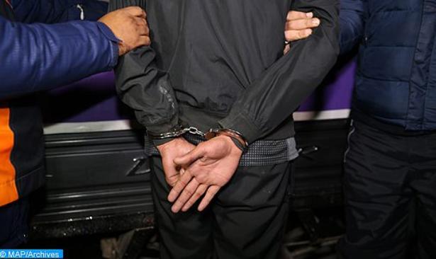 مجرم خطير في قبضة أمن فاس بعد إشهار الشرطة للسلاح