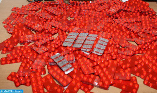 الكمية الإجمالية للأقراص المهلوسة التي تم حجزها بميناء طنجة المتوسط بلغت 241 ألف و319 قرصا من مخدر الإكستازي