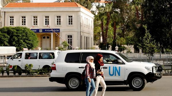الأمم المتحدة تبحث مع روسيا والنظام سلامة محققي الكيمياوي