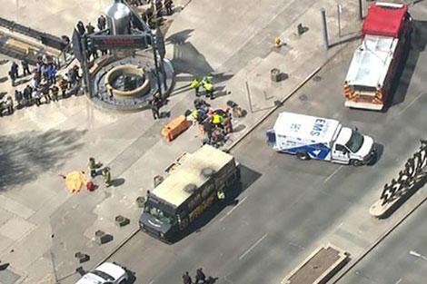 اعتقال سائق شاحنة صدم المارة بكندا وتسبب في مقتل 9 أشخاص