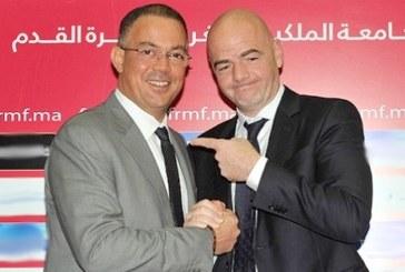 """شبكة """"بي بي سي"""": رئيس الفيفا حاول منع المغرب من استضافة المونديال"""