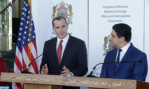 """مبعوث للرئيس الأمريكي يشيد بريادة الملك في مجال تفكيك الإيديولوجية المدمرة لتظيم """"داعش"""""""