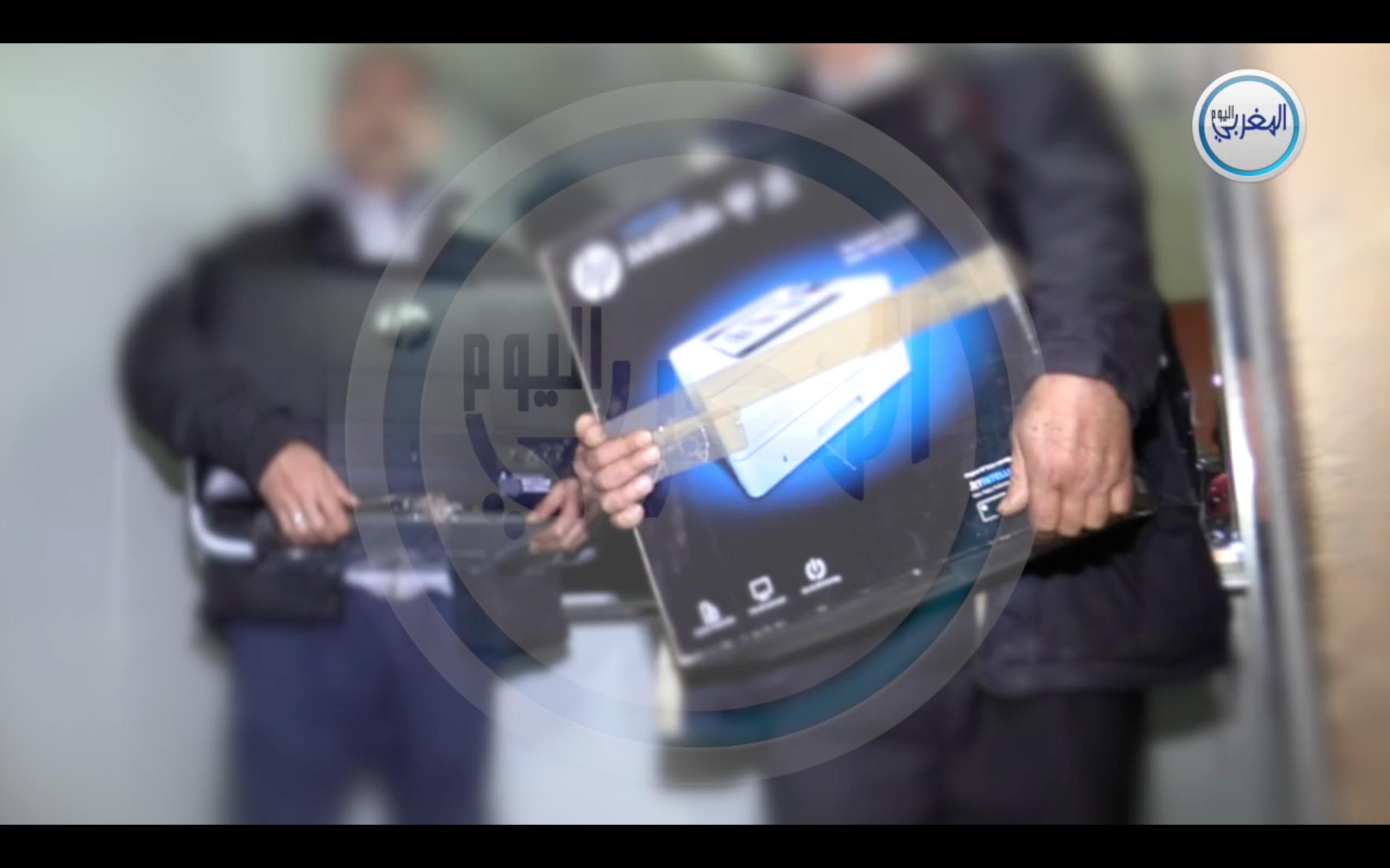 بالفيديو… شاهد المعدات التي كان يوثق بها توفيق بوعشرين شرائطه البورنوغرافية
