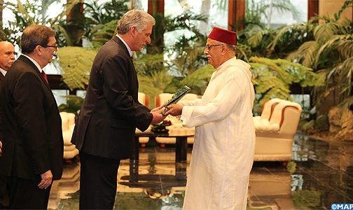 بعد قطيعة امتدت لسنوات… سفير المغرب يسلم أوراق اعتماده لدى كوبا