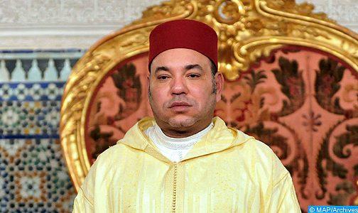 الملك يترأس حفل استقبال بقصر مرشان بطنجة بمناسبة الذكرى التاسعة عشرة لتربع جلالته على عرش أسلافه المنعمين
