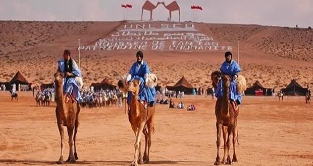 المعرض التشكيلي السنوي الثالث بطانطان يحتفي بالتراث الجمالي لرحل الصحراء
