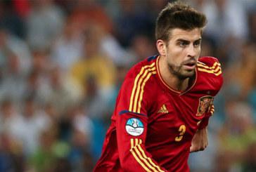قلق في صفوف المنتخب الاسباني بعد إصابة جيرارد بيكيه
